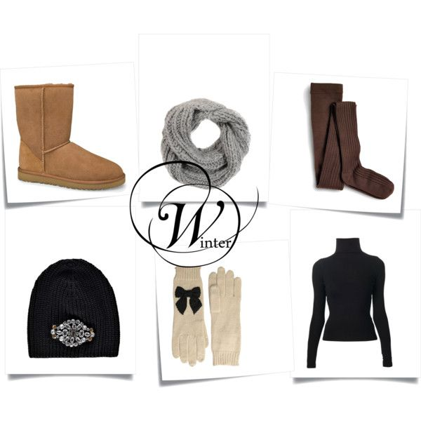 """winter essentials"" by ohfanyfany on Polyvore"