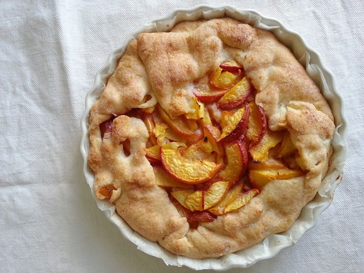 Peach Frangipane Galette Recipes — Dishmaps