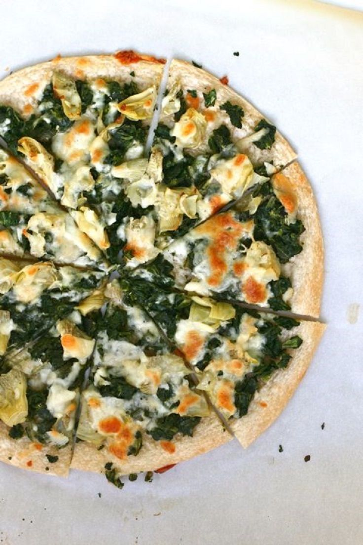 Spinach Artichoke Pizza | appetizer, dips & snacks, MUNCHIES and misc ...