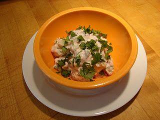 Yogurt Raita - Tomato, Cucumber, Garlic, Cilantro, Lemon Juice ...