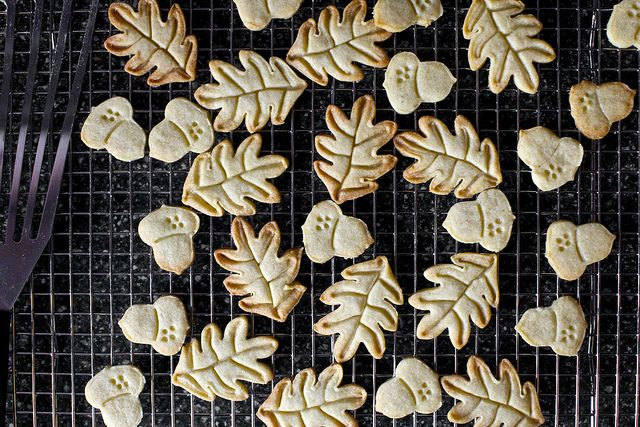 Nutmeg Maple Butter Cookies - I made these for valentines day in heart ...
