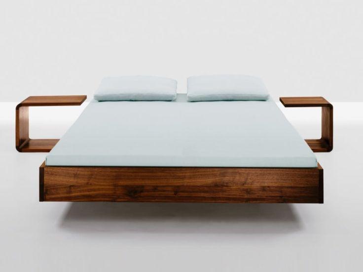 Bed frame full size wood