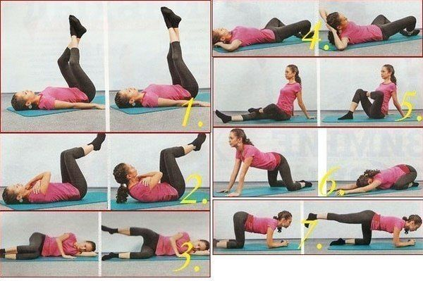 Делаем упражнения для похудения в домашних условиях