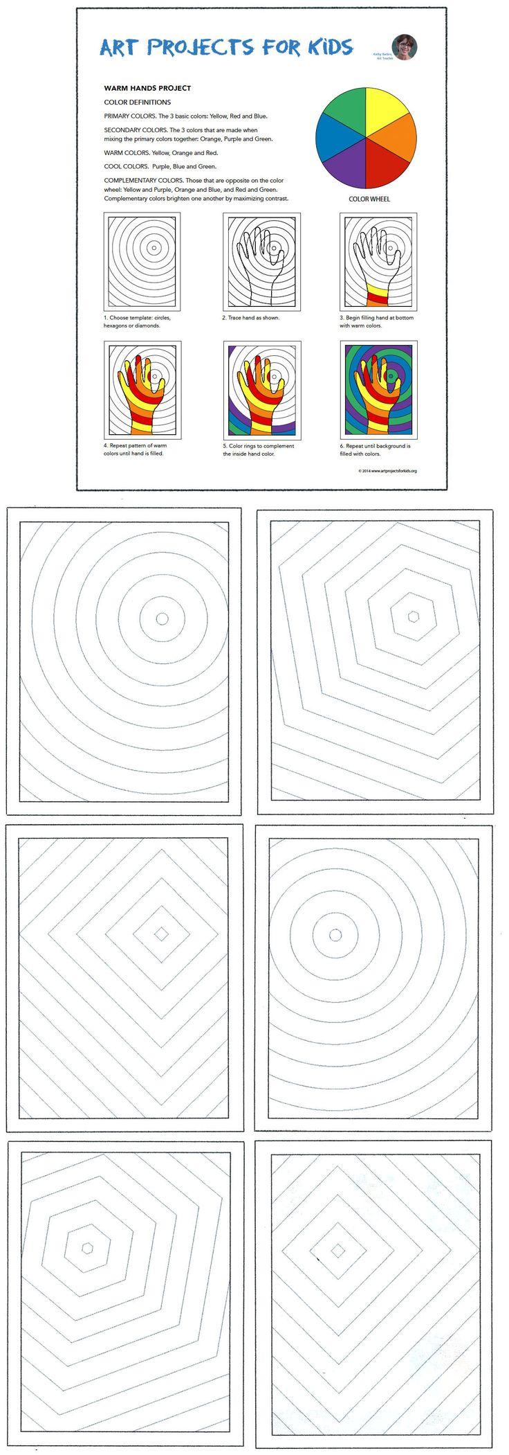 Color wheel kindergarten lesson plan