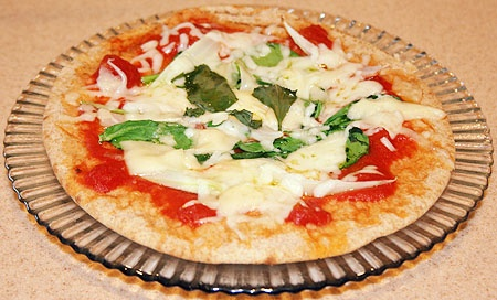 Healthy Breakfast Recipes - pita pizza   Healthy Food   Pinterest