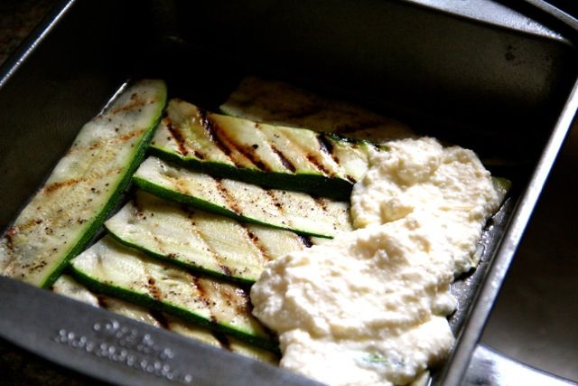 "Grilled Zucchini ""Lasagna"" With Italian Sausage, Tomato, And Basil ..."