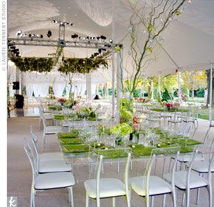Green Girl wedding