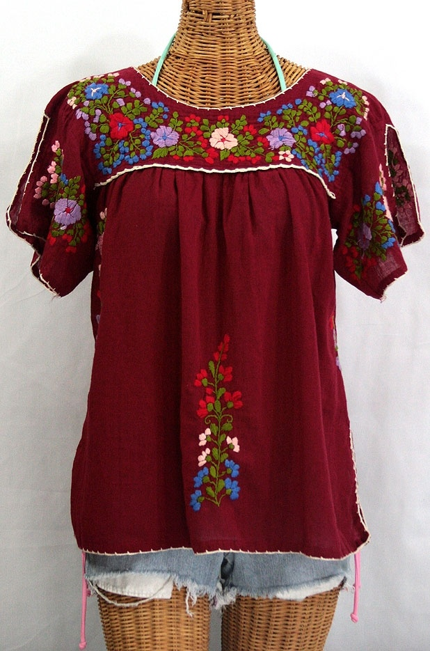 Excellent Womens Mexican Embroidered Dress Maternity Pregnant Casual Dresses
