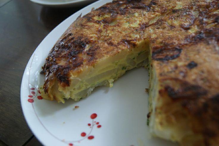 Oven Baked Tortilla Española (Spanish Omelette) | Mrs. Smith Cooks