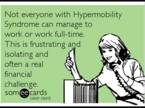 dystonia in the joint hypermobility syndrome Joints that are more flexible than normal or that move in excess of a normal range of motion are considered hypermobile when generalized, hypermobility occurs with symptoms such as muscle or joint pain without systemic disease, it is called - hypermobility syndrome or joint hypermobility syndrome.