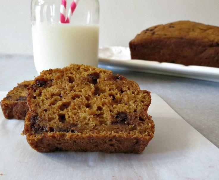 Pumpkin Chocolate Chip Bread With Greek Yogurt Recipes — Dishmaps