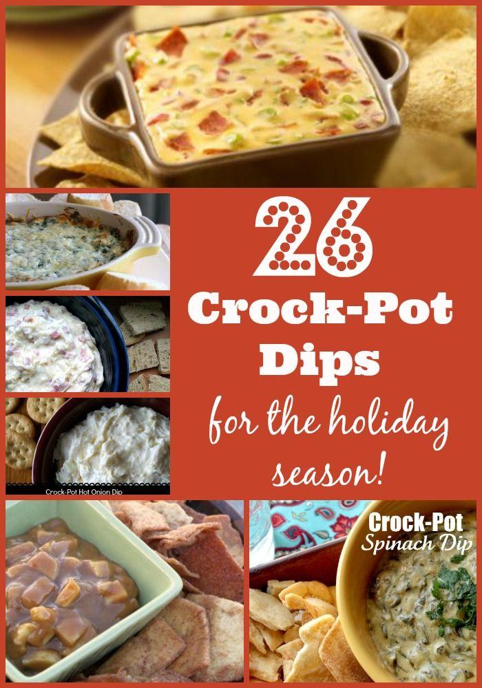 26 Crock Pot Dips For The Holiday Season