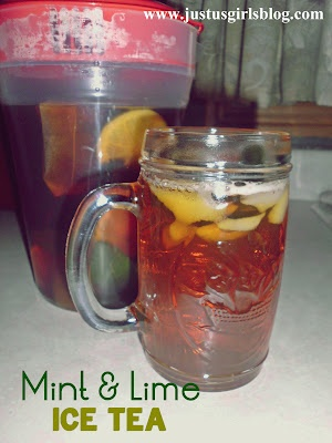 Mint & Lime Iced Tea | Tea Pots & Tea Cups | Pinterest