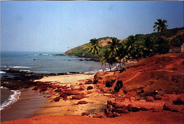 Anjuna Beach Goa India Beautiful Places Travel Pinterest