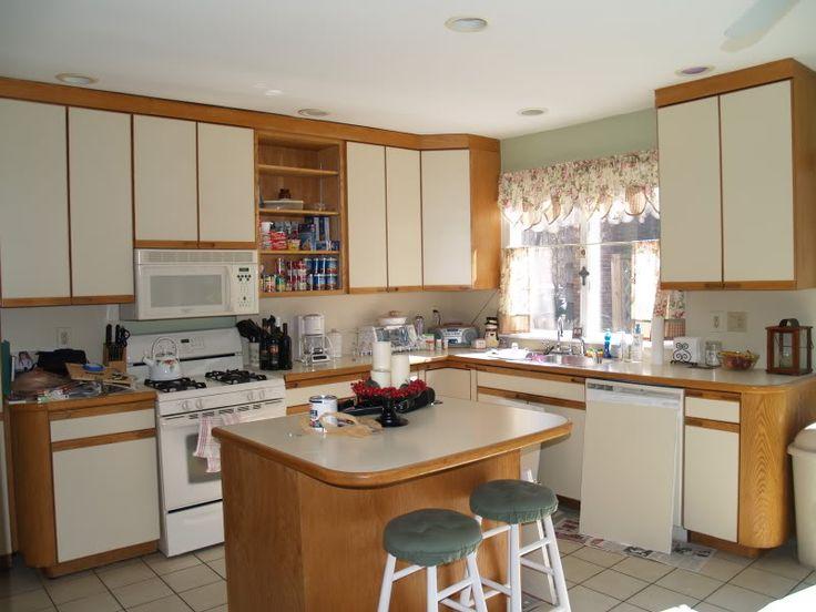 Paint Laminate Kitchen Kitchen Pinterest