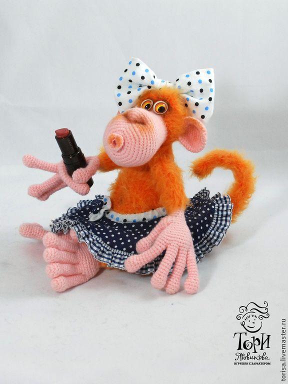Огненная обезьянка своими руками