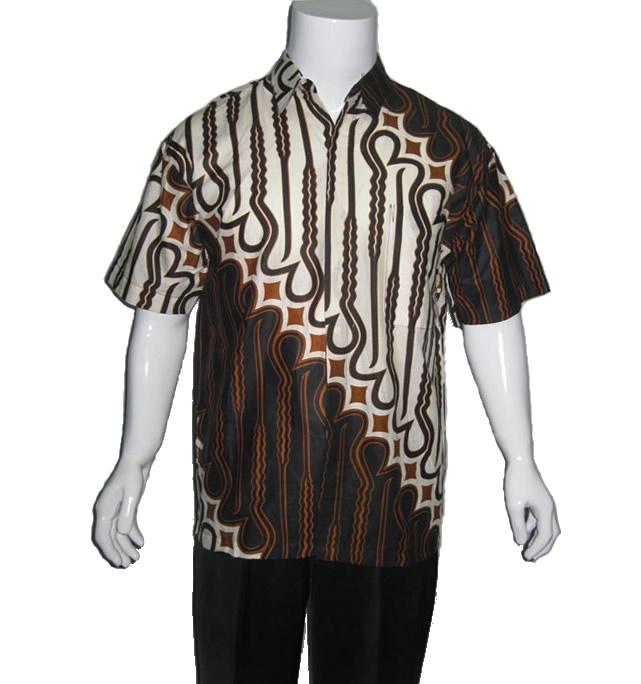 baju batik pria motif parang | Modern Batik Sekar | Pinterest