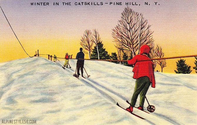 Catskills lift all things skiing pinterest