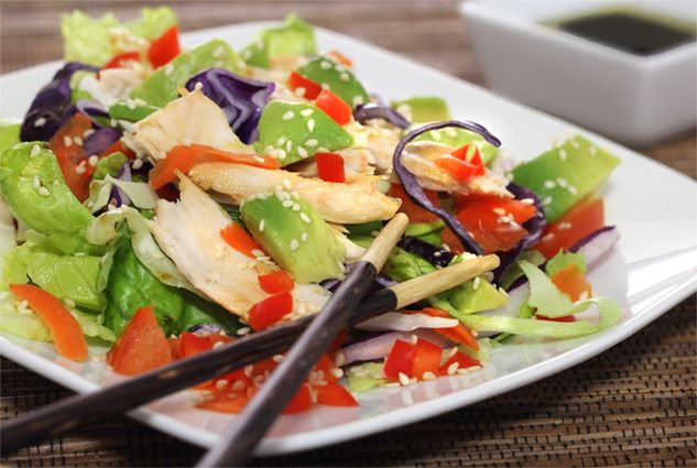 ... sesame lime chicken salad recipes dishmaps sesame lime chicken salad