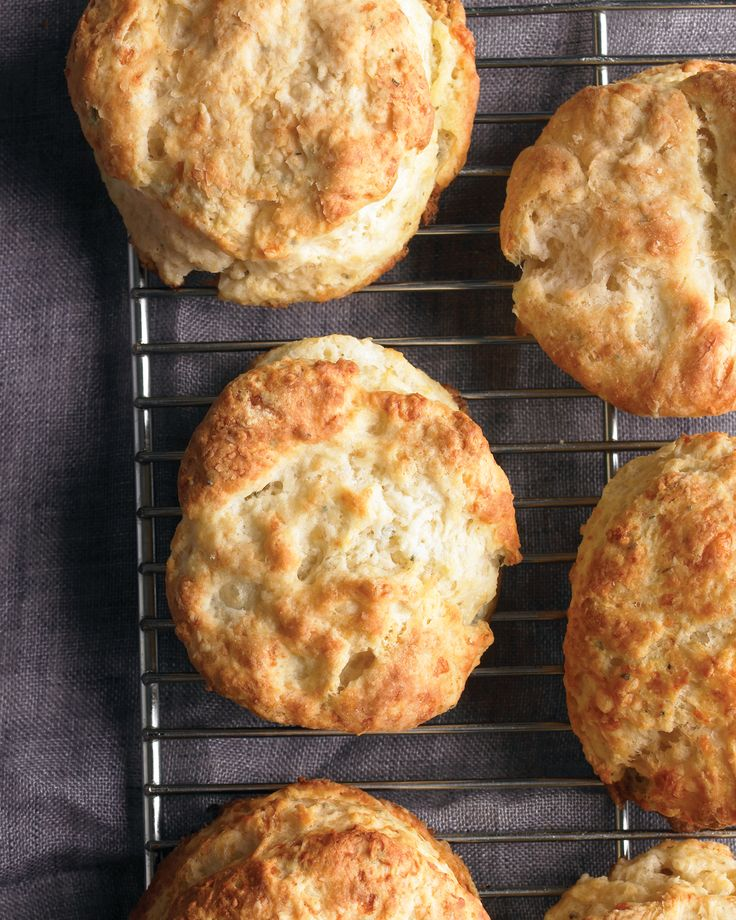 Cheddar and Sage Biscuits | Recipe
