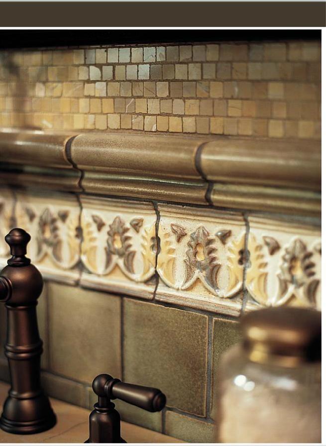 Old World Stone Tile Backsplash Wood Stone Tile Granite Etc P