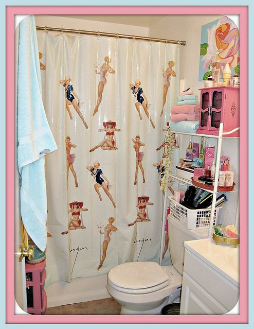 pin up bathroom decor i want pinterest