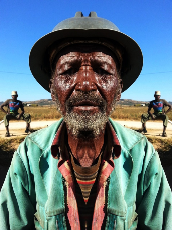 Mirror man by robin brown a south african portrait