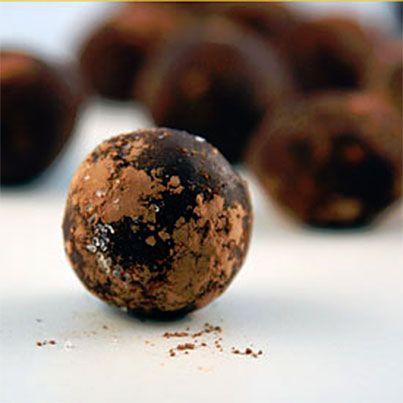 Nutella Sea-Salt Truffles | Candy | Pinterest