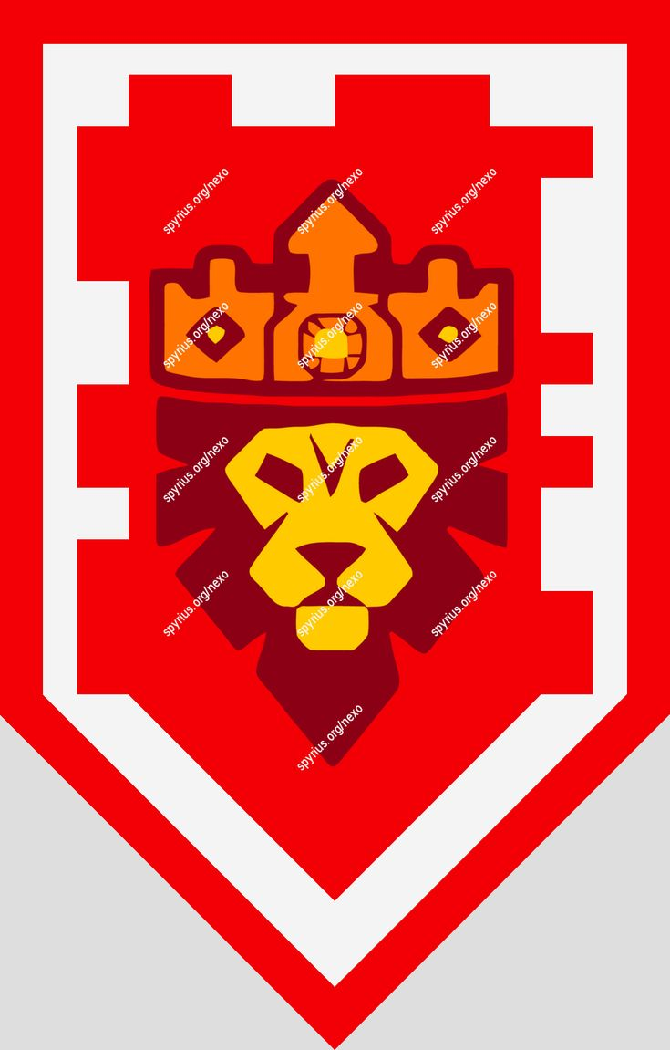 nexo knights шиты