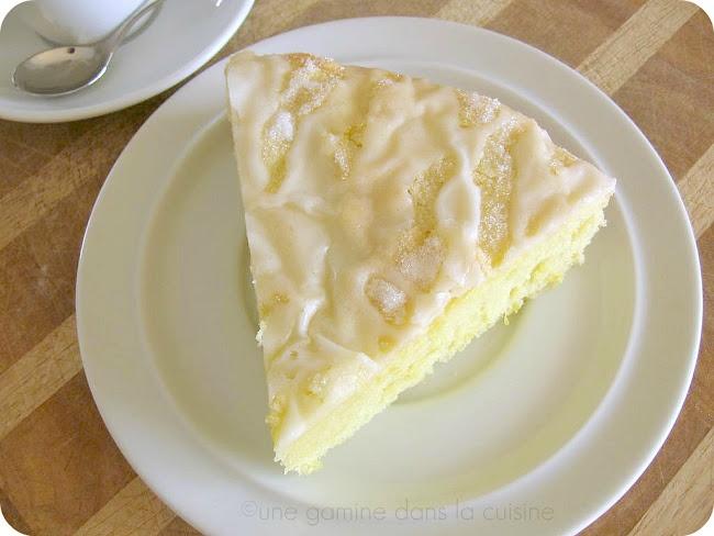 Lemon Olive Oil Cake - just the thing for the bottle of blood orange ...