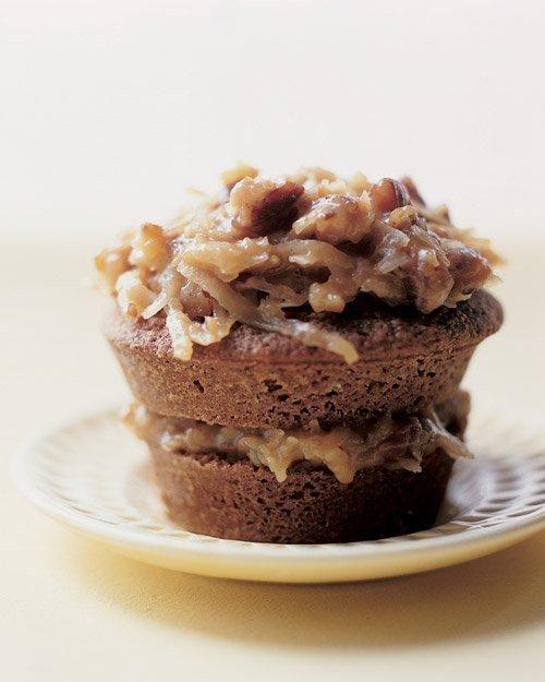 German Chocolate Cupcakes | Party Food | Pinterest