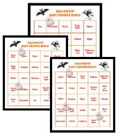 halloween baby shower bingo party ideas pinterest