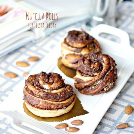 Nutella Rolls | Sugar, Spice, and Everything Nice | Pinterest
