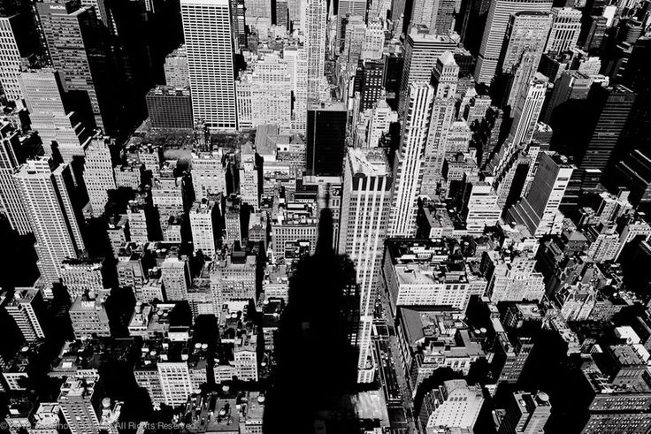 Casting Its Shadow  (NY: from the Empire State Building)