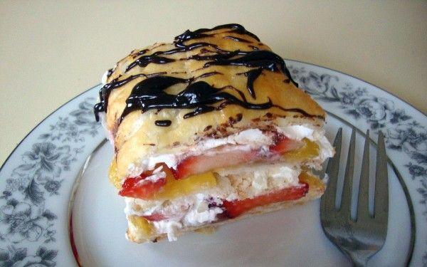 Napoleons Recipe | Dessert Recipes | Pinterest