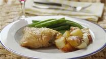 Crispy Rosemary Chicken and Fries | EAT, DRINK & BE HAPPY | Pinterest