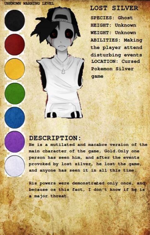 Pinned by StitchCreepypasta Character Profiles