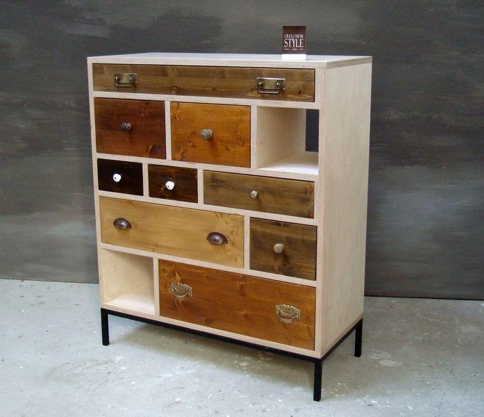 Kommode Im Vintage Look Gestalten : vintage style