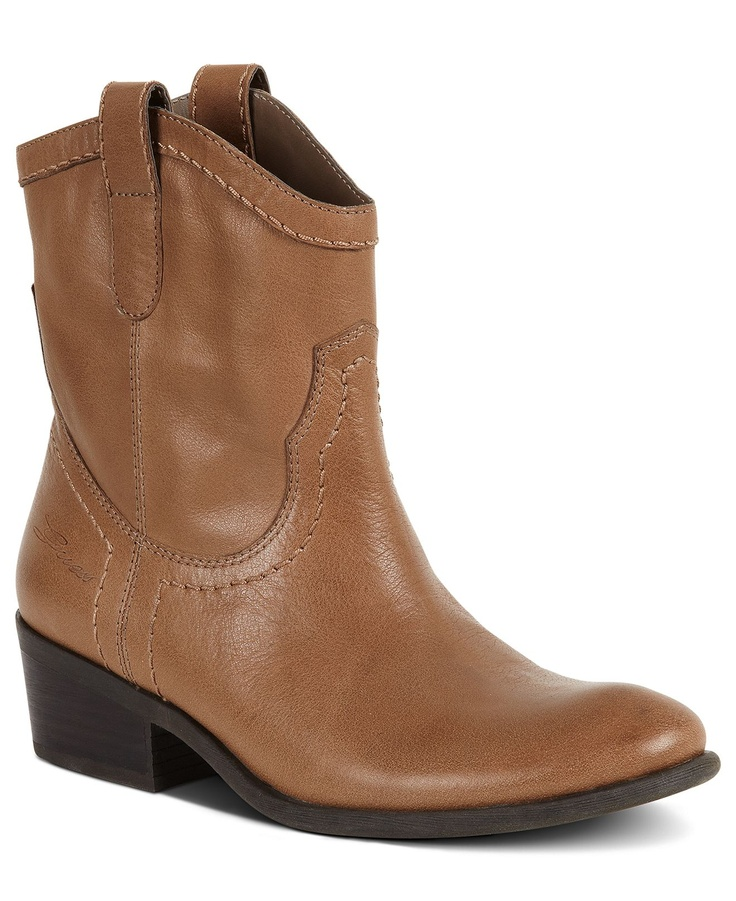 guess s shoes genette western booties boots