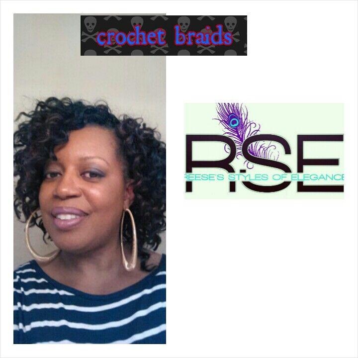 Crochet Braids Elegance : Crochet braids REESES STYLES OF ELEGANCE Pinterest