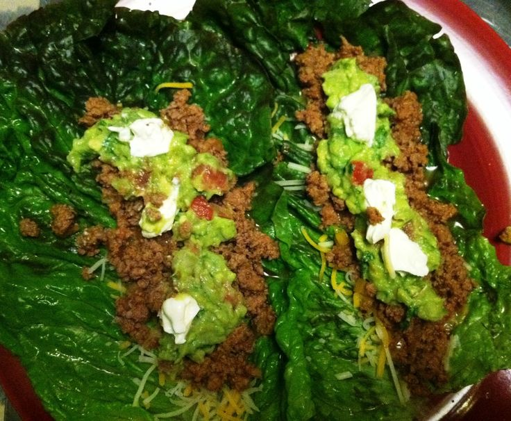 Turkey Taco Lettuce Wraps | Food | Pinterest