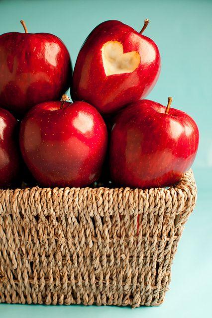 basket of apples...