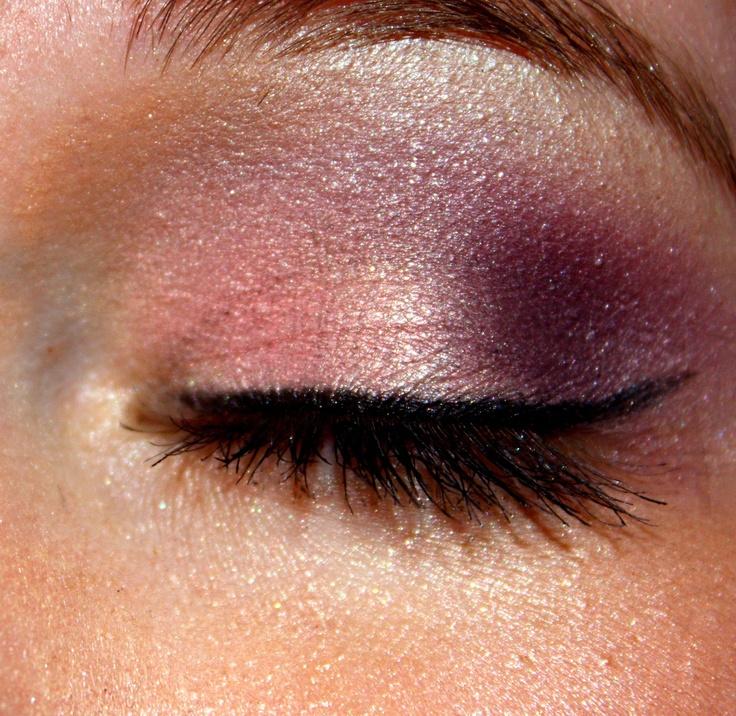 pink purple smokey eye makeup pinterest