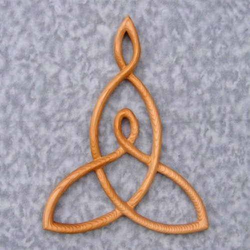 Mother and Child knot...maybe with the boys initials in the corner loops.