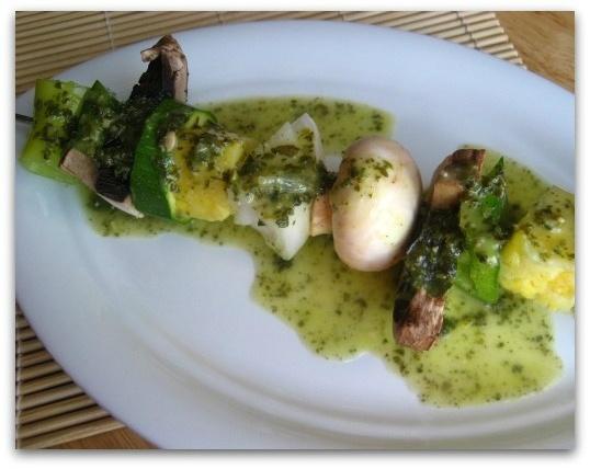 Lemon Pesto Kabobs | Paleo Eats | Pinterest