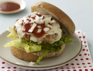 Turkey Taco Burgers with Guacamole and Fresh Tomato Salsa. Try with ...