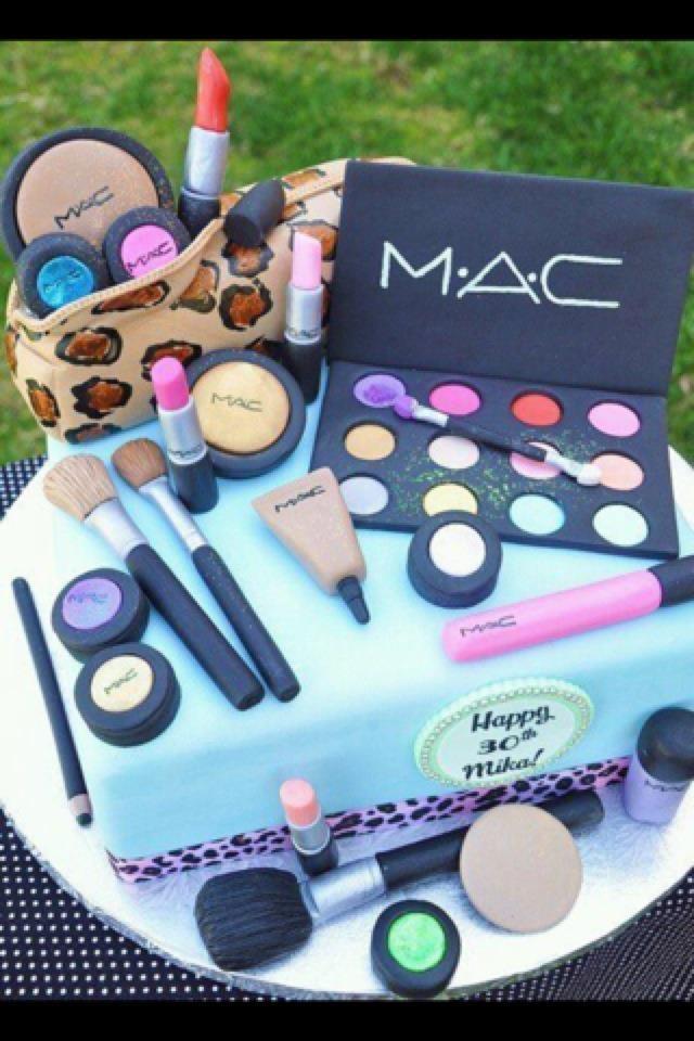 MAC Birthday Cake. YES! | My Style | Pinterest