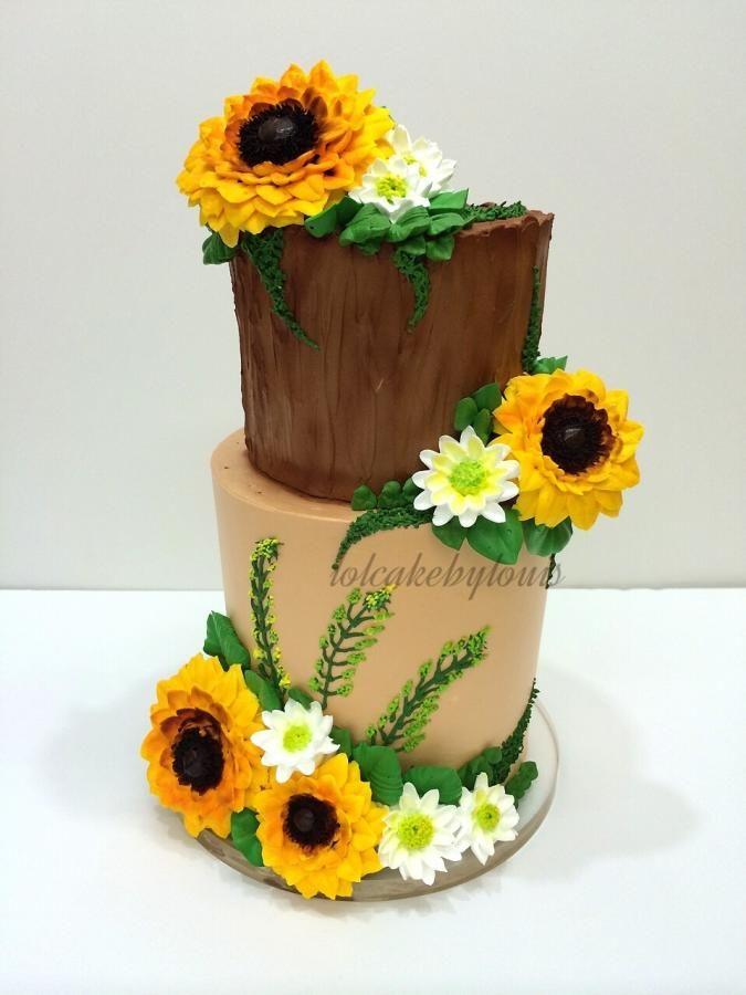 Sunflower | cakes | Pinterest