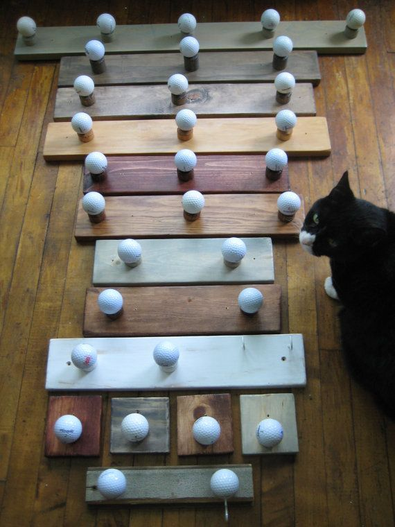 golf ball rack: