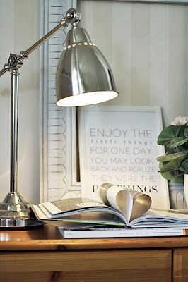Barometer work lamp - found one just like this at Ikea! $29.99